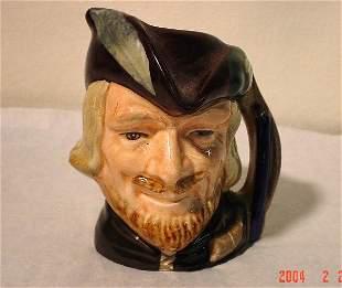 """Royal Doulton Mini Toby Mug """"Robin Hood"""""""