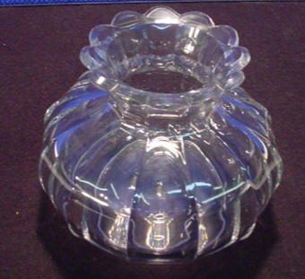 210: Barrel Huber Flint Glass Vase
