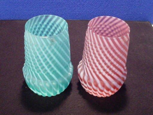 211: Swirl Vases
