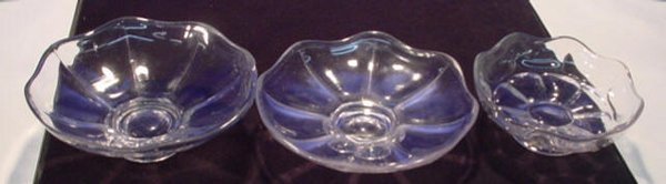 218: Flint Glass Bowls