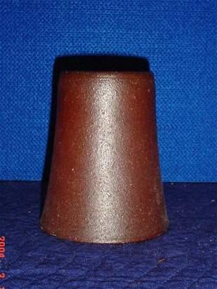 Crock vase.