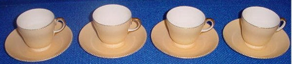 1: Wedgewood Cups & Saucers