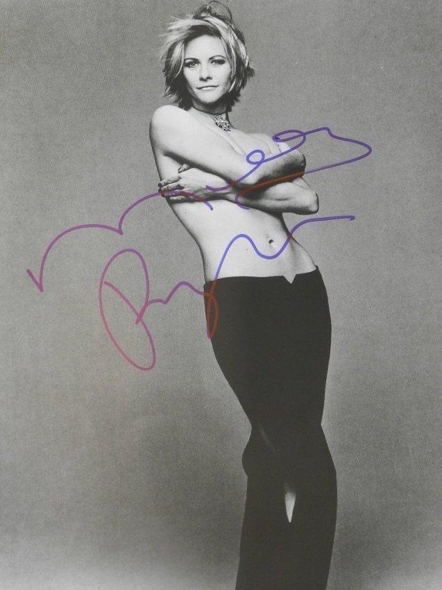 Meg Ryan Signed Photograph