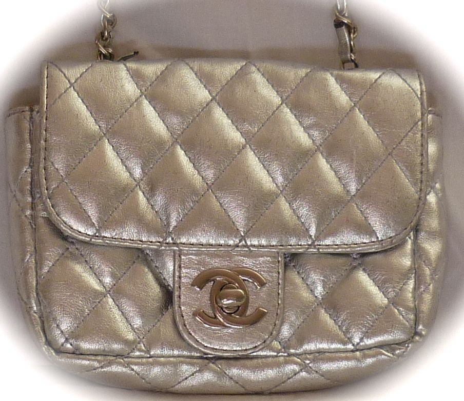 Chanel Quilted Clutch Bag