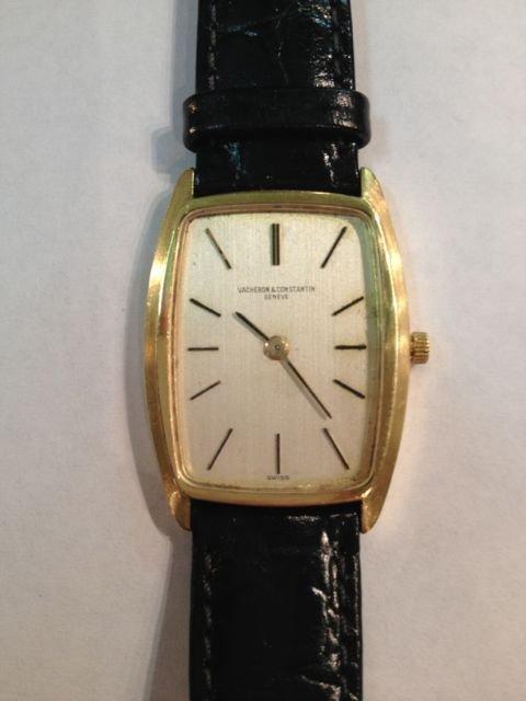 Vacheron Constantin 18K Gold Vintage Mens Watch