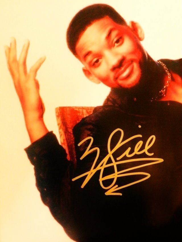 Will Smith Autographed Picture