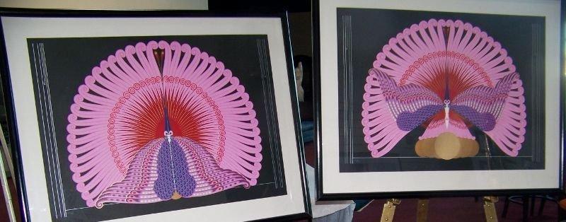 ERTE Phoenix Suite, Artists Prints 36/65