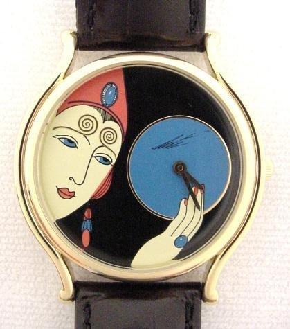 Erte Art Deco Lady's Watch