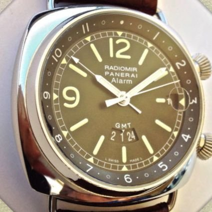 Panerai Limited Edition Radiomir GMT Watch 439/500