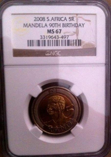 Mandela 90th Birthday Coin