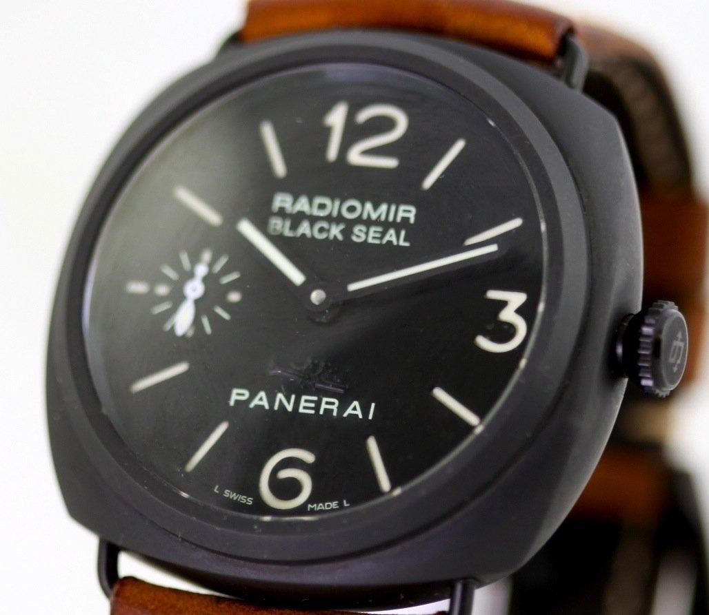 Panerai Radiomir Black Seal Ceramic Mens Watch