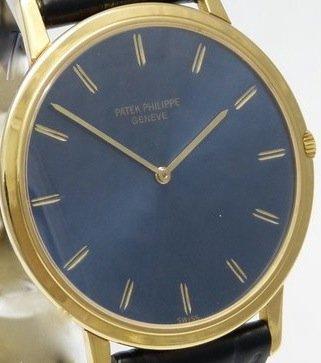 Patek Phillipe Calatrava Ultra Slim, 18K Gold Watch