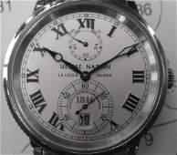 Ulysse Nardin Marine Chronometer Mens Watch