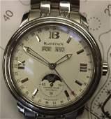 Blancpain Leman Complete Calendar Moonphase Mens Watch