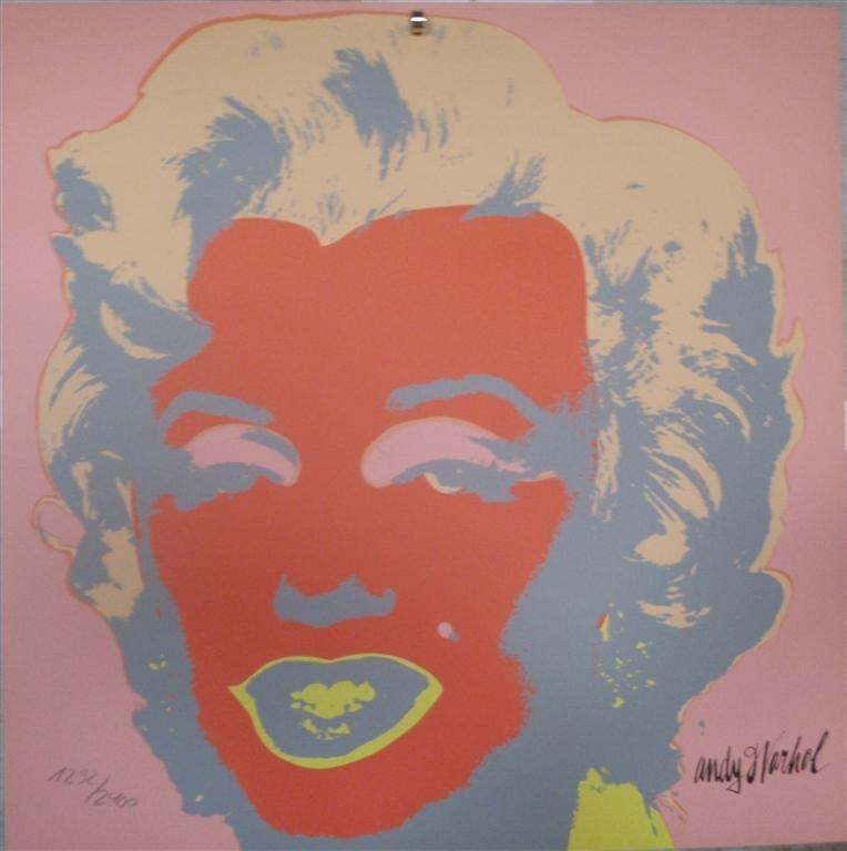 Andy WARHOL Marilyn Monroe lithograph II.22, 1292/2400