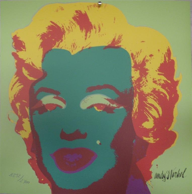Andy WARHOL Marilyn Monroe lithograph II.25, 1292/2400