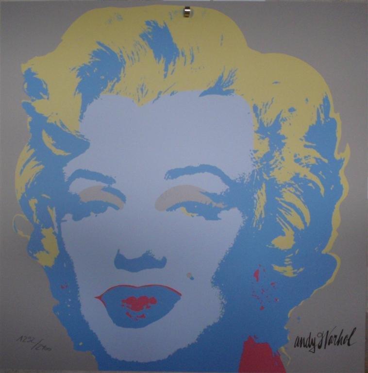 Andy WARHOL Marilyn Monroe lithograph II.26, 1292/2400