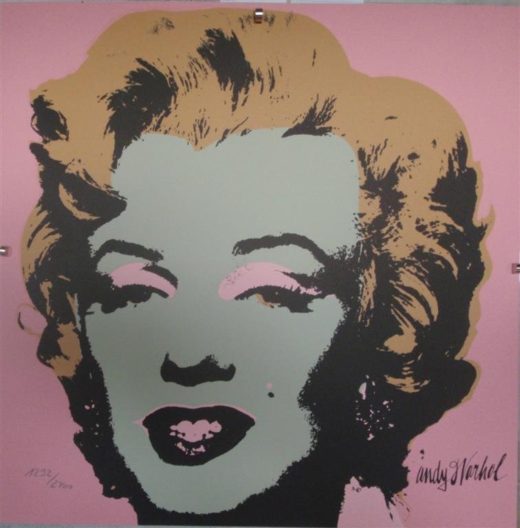 Andy WARHOL Marilyn Monroe lithograph II.27, 1292/2400