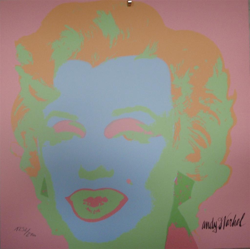 Andy WARHOL Marilyn Monroe lithograph II.28, 1292/2400