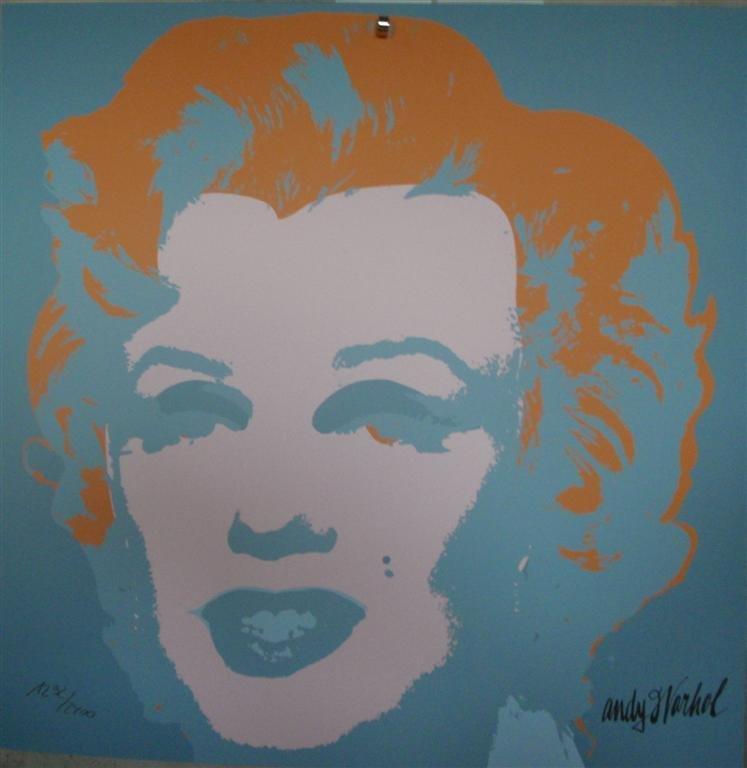 Andy WARHOL Marilyn Monroe lithograph II.29, 1292/2400