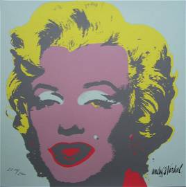 Andy WARHOL Marilyn Monroe lithograph II.23, 2211/2400