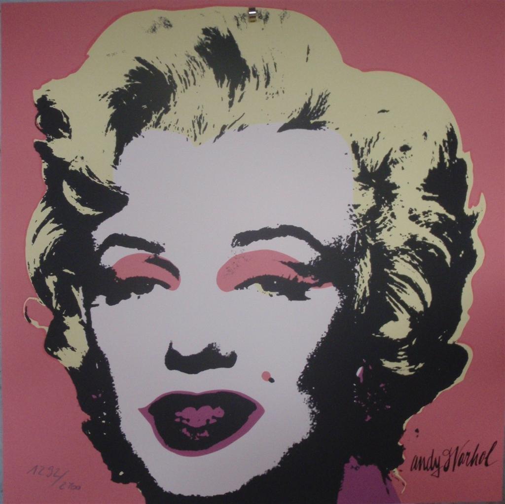 Andy WARHOL Marilyn Monroe lithograph II.31, 1292/2400