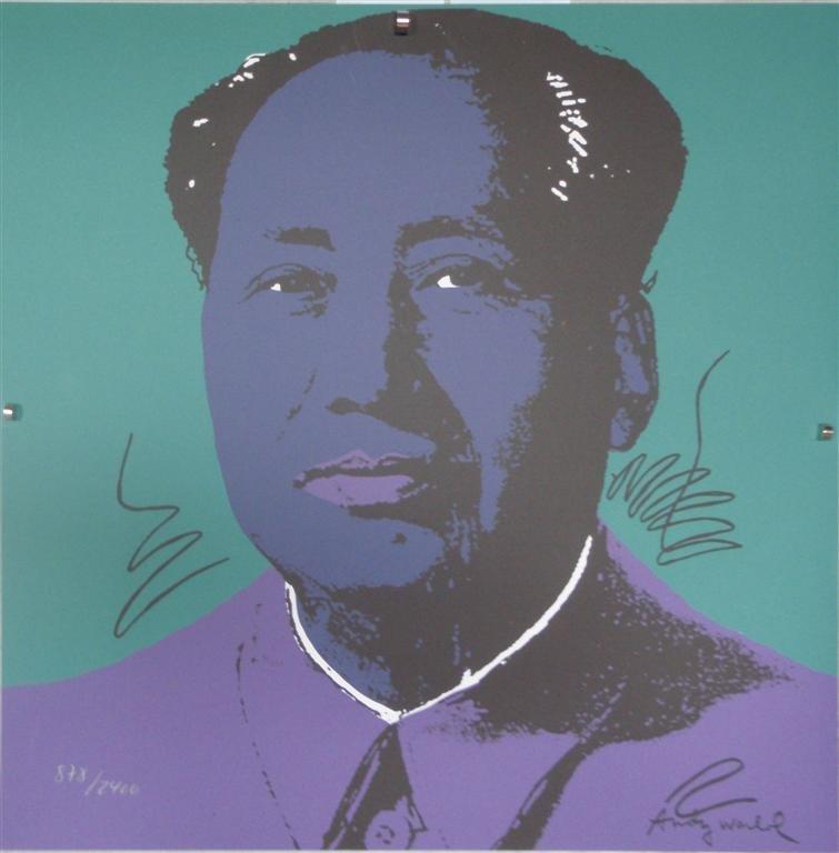 Andy WARHOL Mao Zedong lithograph II.90, 878/2400