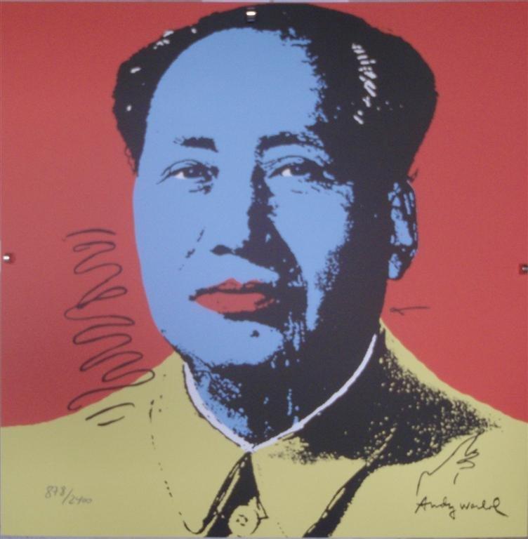 Andy WARHOL Mao Zedong II.91, 878/2400