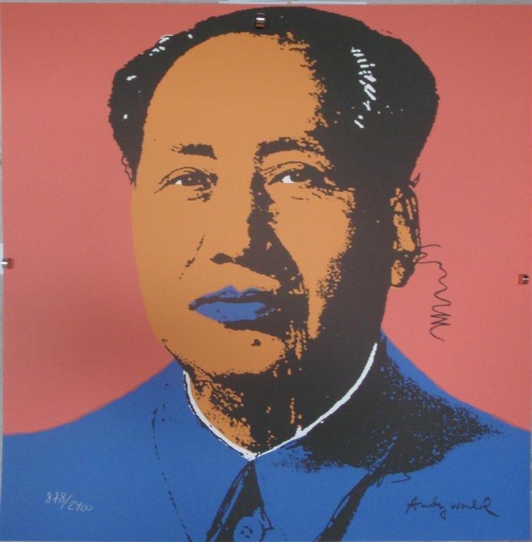 Andy WARHOL Mao Zedong II.92, 878/2400