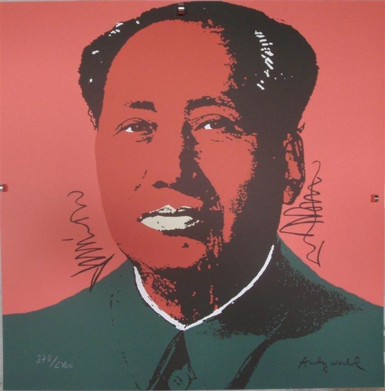 Andy WARHOL Mao Zedong II.94, 878/2400