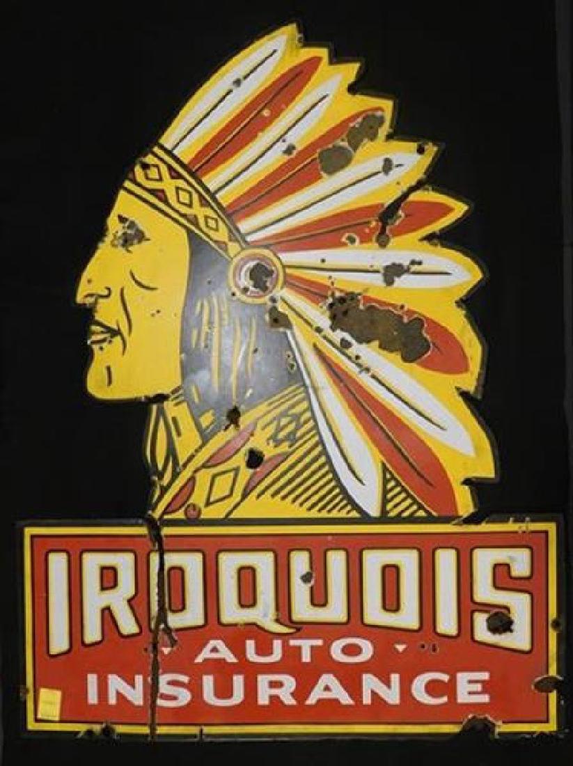 STUNNING INDIAN NATIVE AMERICAN IROQUOIS AUTO INSURANCE