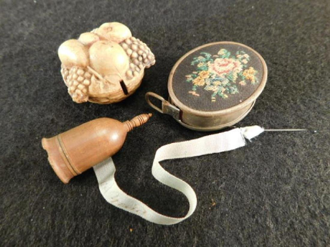 MEASURING TAPES SEWING COLLECTIBLE VICTORIAN ERA