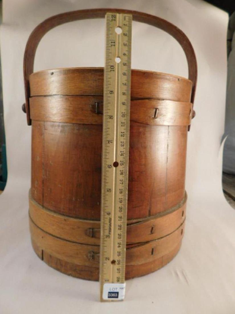 SEWING WOODEN FIRKIN COLLECTIBLE - 5