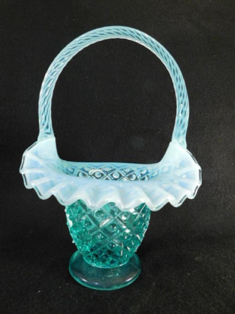 FENTON ART GLASS USA HANDPAINTED