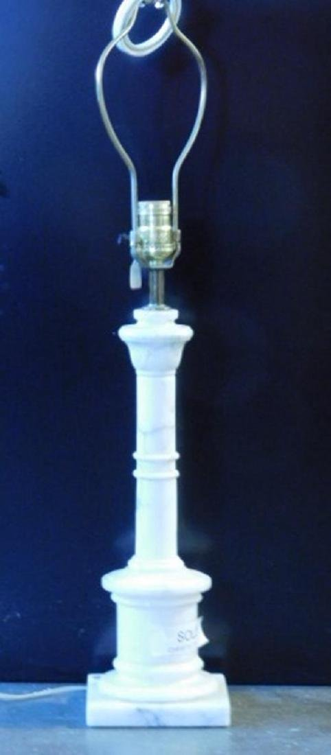 ITALIAN MARBLE LAMP VINTAGE