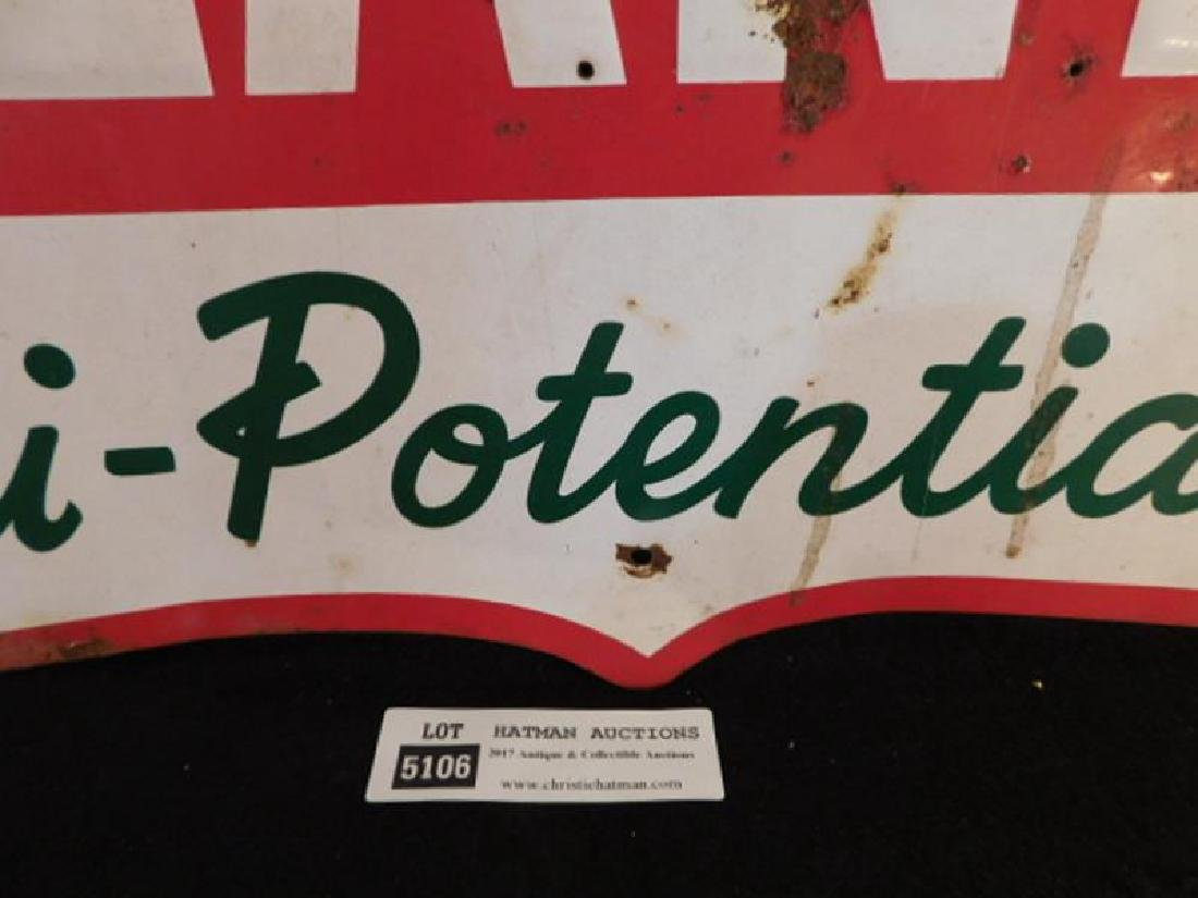 BLANEY HI-POTENTIALS CORN METAL SIGN ADVERTISING 20 - 3