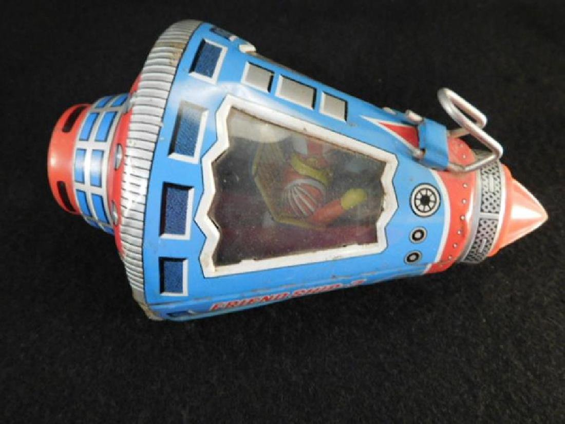 FRIENDSHIP 7 JAPANESE TIN TOY SPACE SHIP