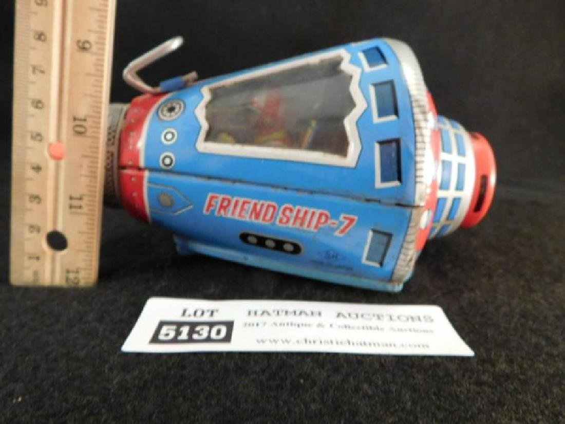 FRIENDSHIP 7 JAPANESE TIN TOY SPACE SHIP - 2