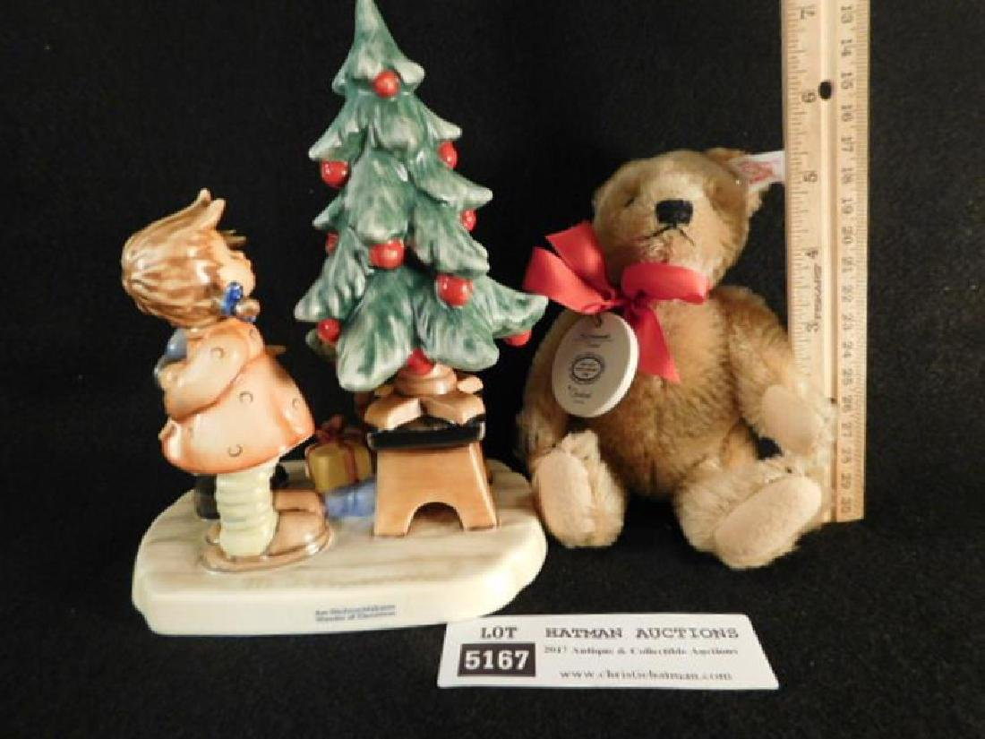 HUMMEL GOEBEL BERTA M.I  FIGURINE WITH BEAR - 2