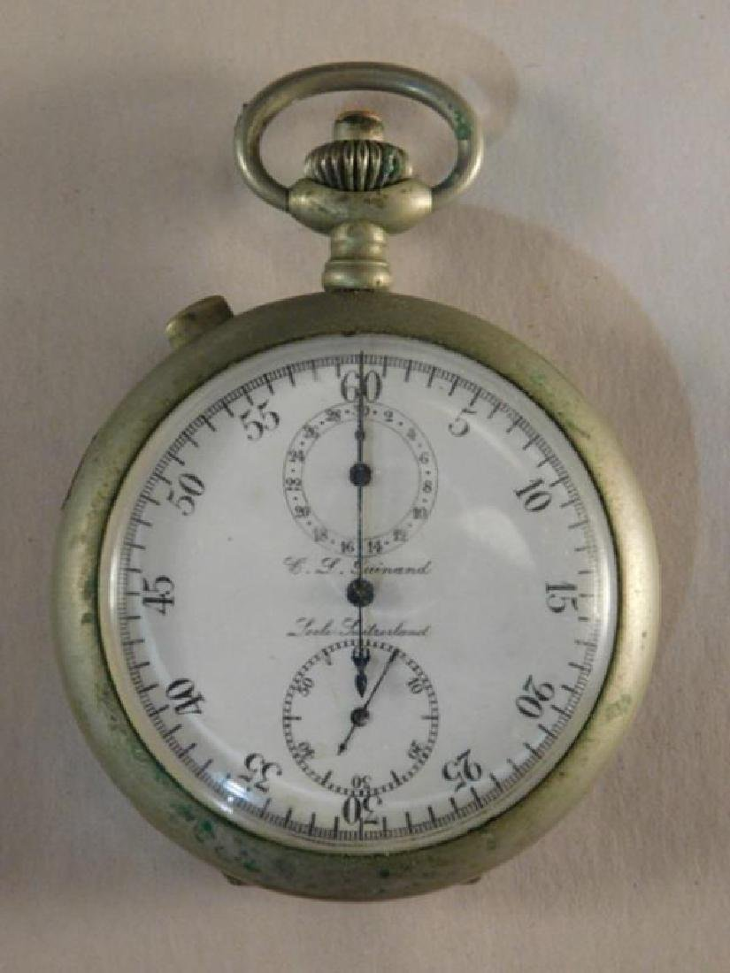 ANTIQUE POCKET WATCH SWITZERLAND