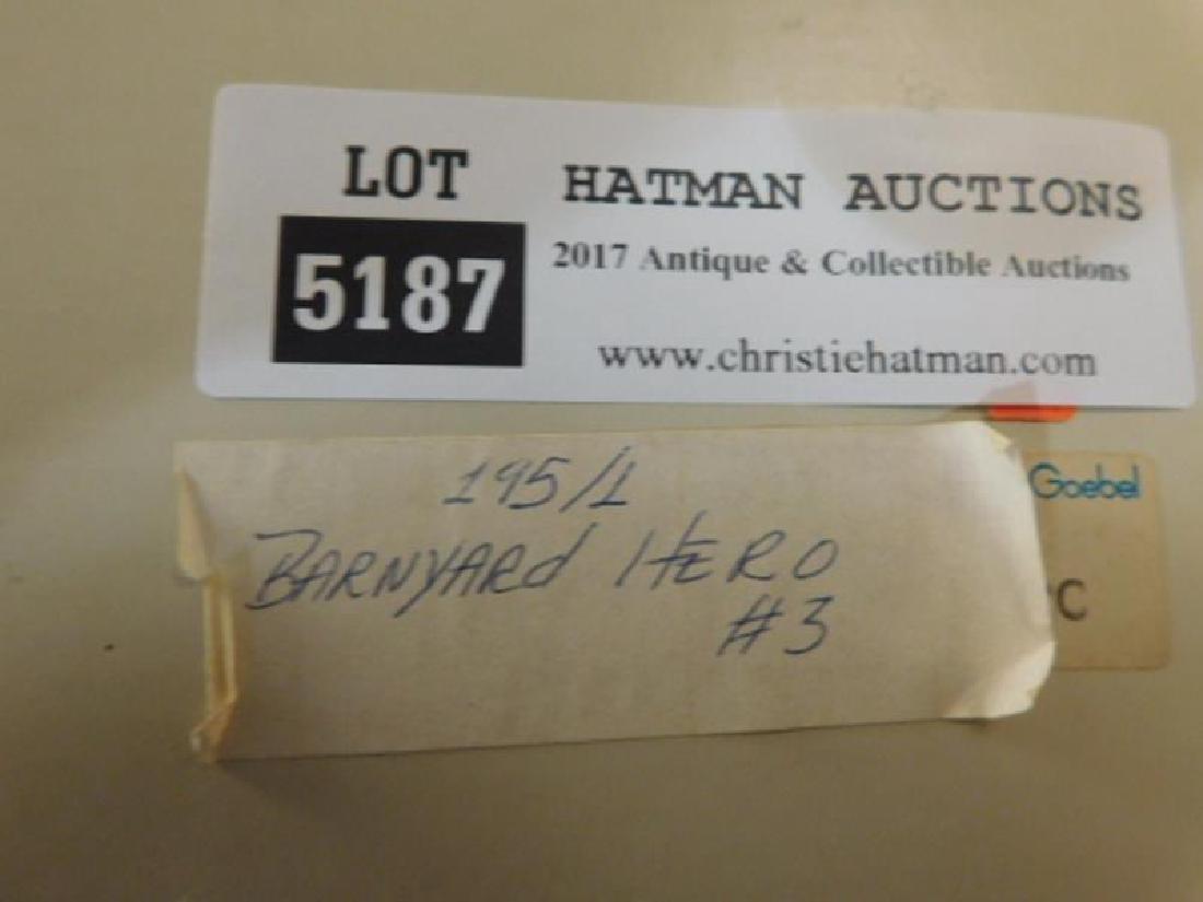 HUMMEL GOEBEL BERTA M.I  FIGURINE BARNYARD HERO - 4
