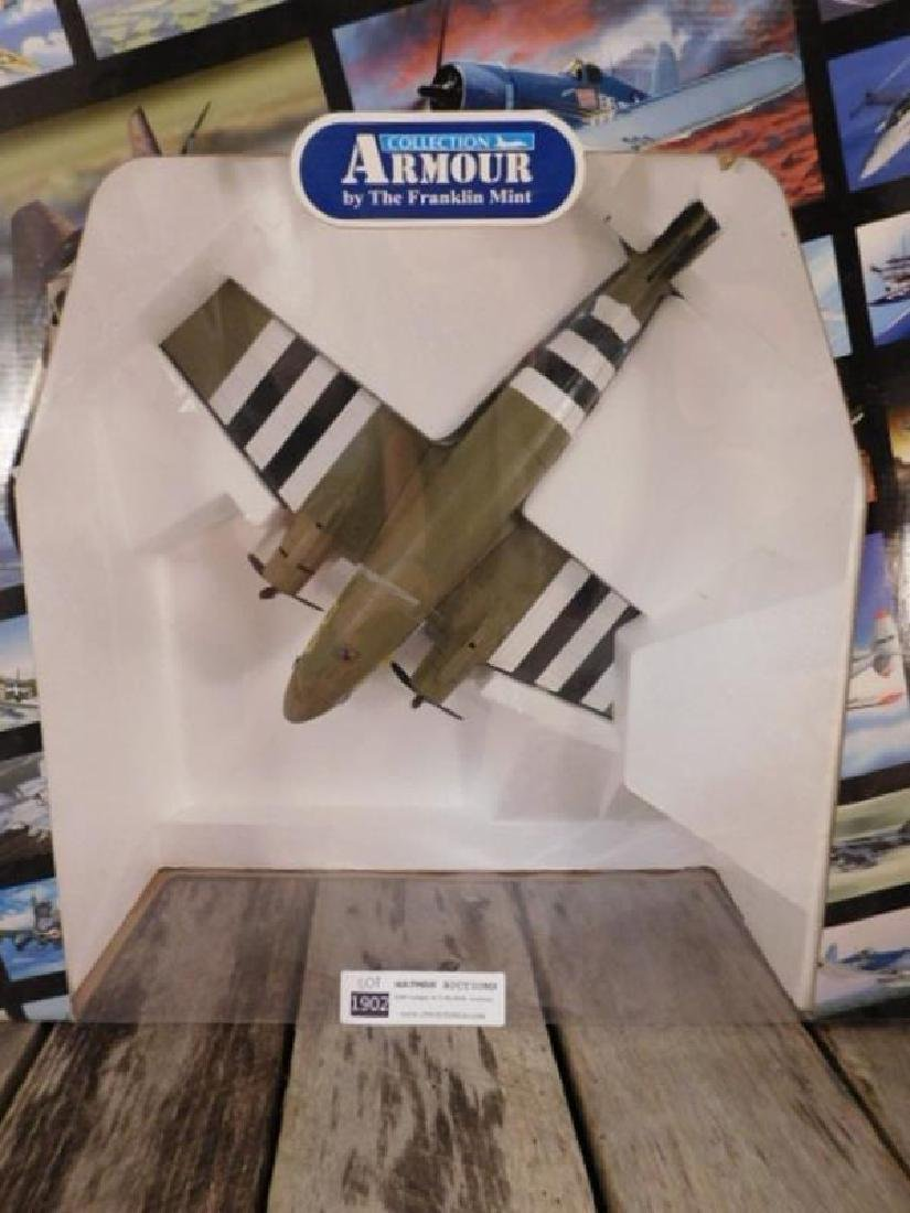 ARMOUR COLLECTION DIE CAST BY THE FRANKLIN MINT FIGHTER - 3