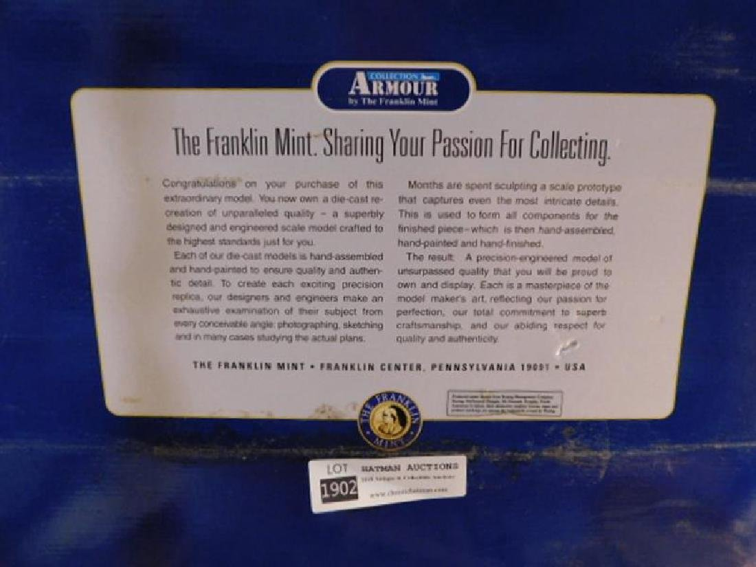 ARMOUR COLLECTION DIE CAST BY THE FRANKLIN MINT FIGHTER - 4