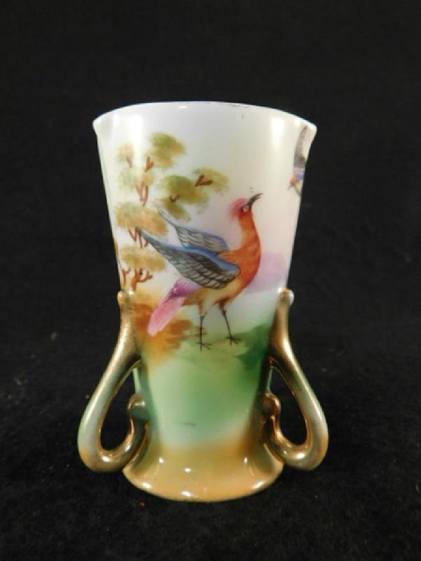 ROYAL BAYREUTH HAND PAINTED TOOTHPICK HOLDER