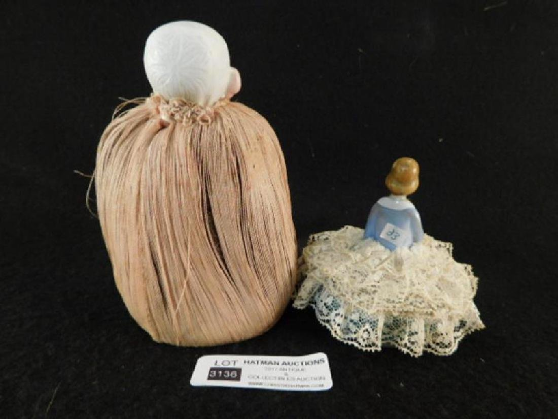 PIN CUSHIONS SEWING COLLECTIBLE VICTORIAN ERA ANTIQUE - 3