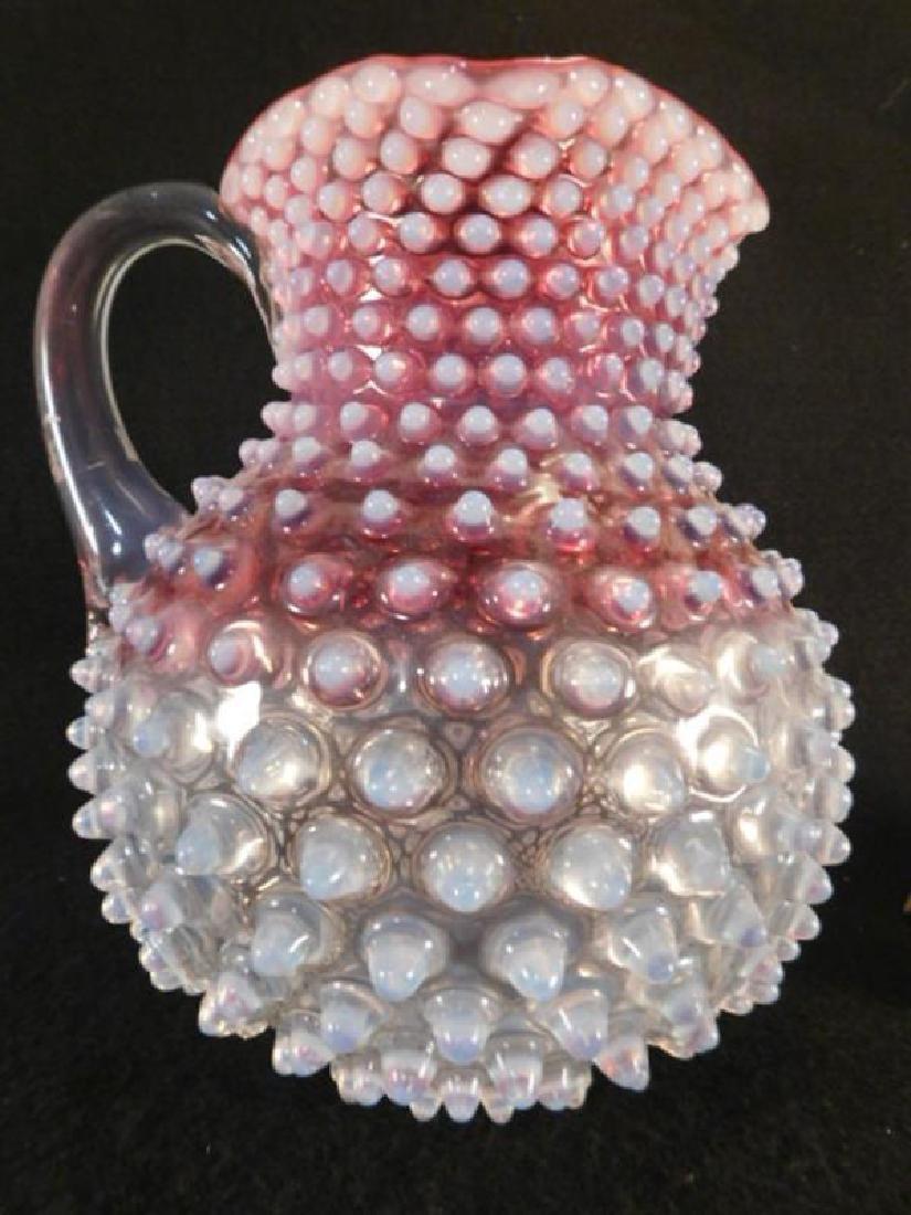 HOBBS BROCKNIERS HOBNAIL VICTORIAN GLASS 1800'S EAPG