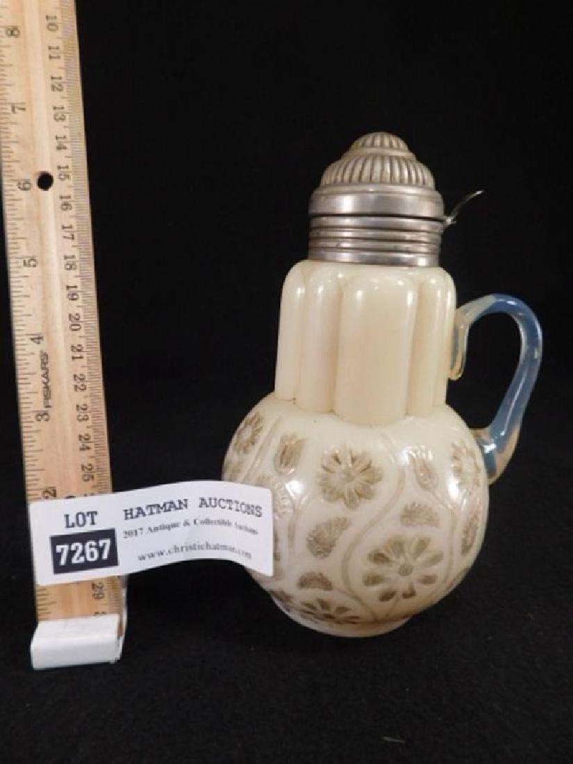 PB RARE 1889 FIndlay Onyx Syrup jug Pitcher  Dalzell - 2
