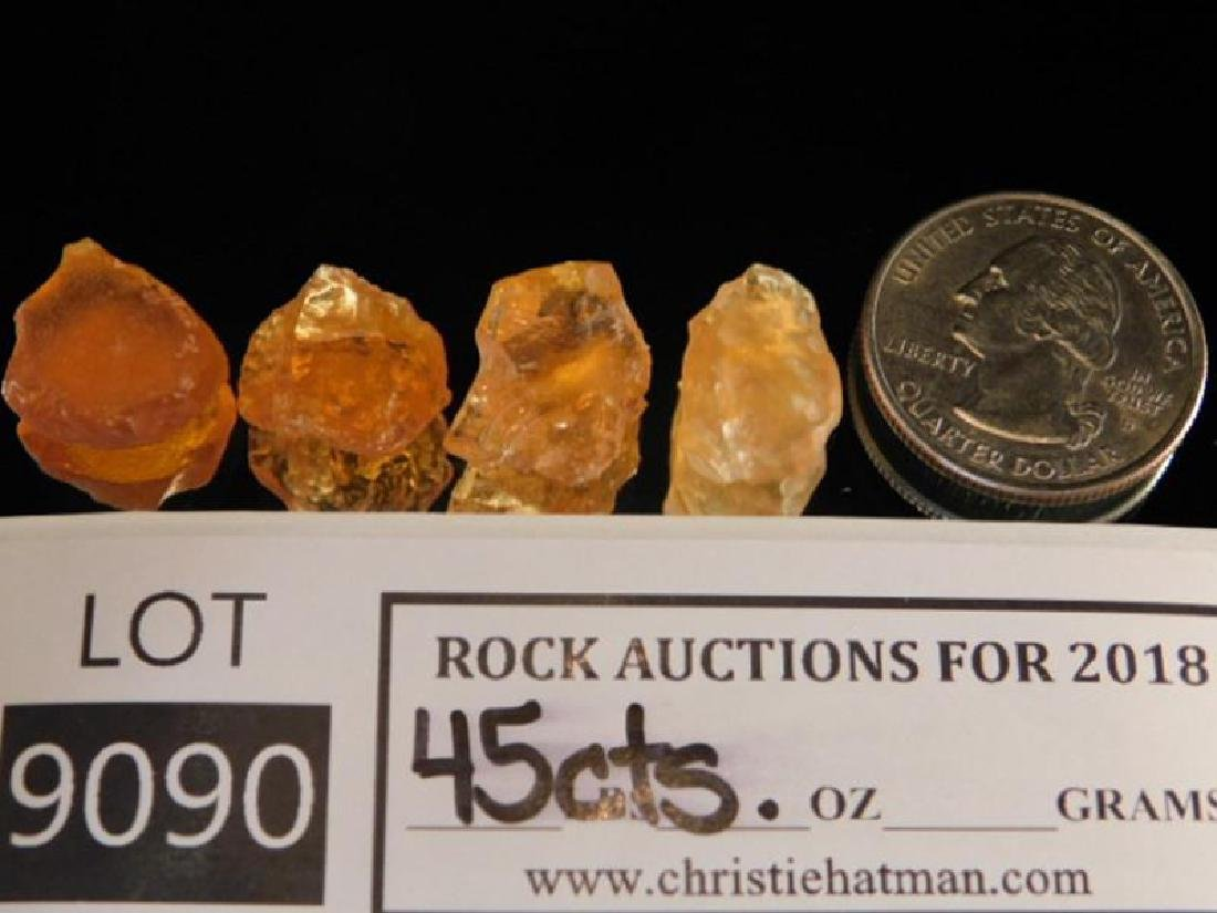 MEXICAN FIRE OPALS ROCK STONE LAPIDARY SPECIMEN (Yes,
