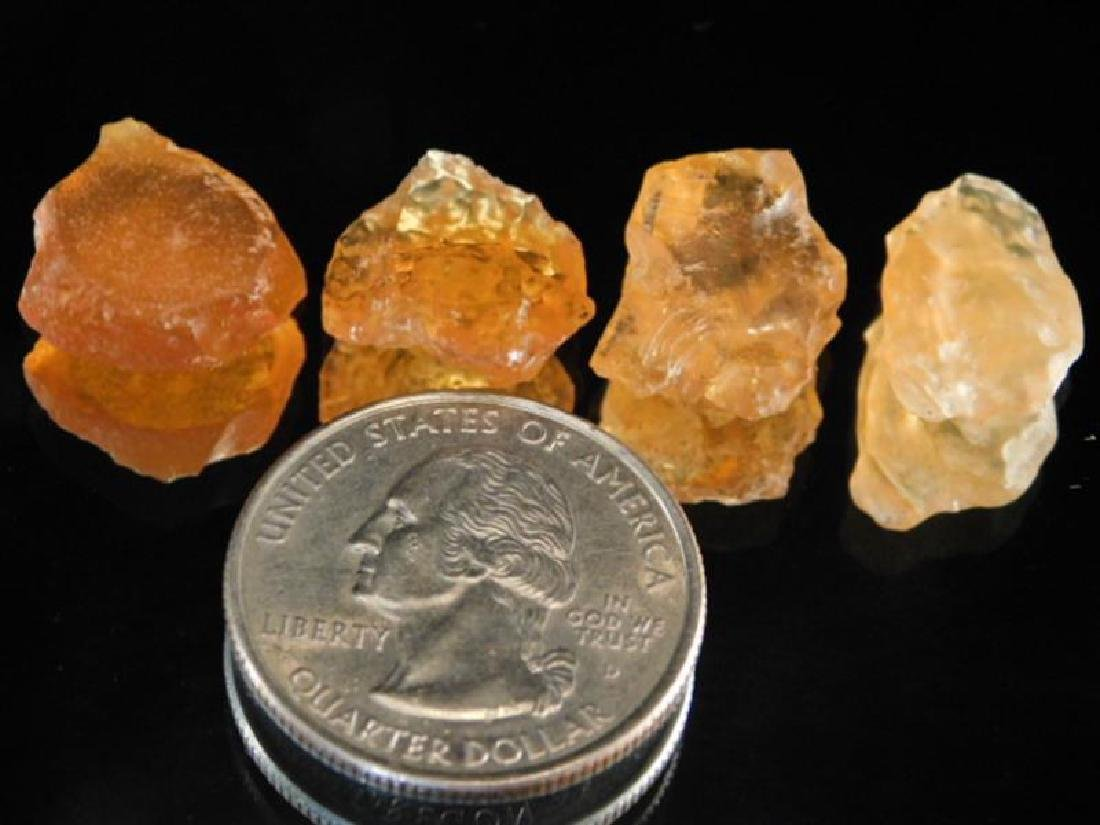 MEXICAN FIRE OPALS ROCK STONE LAPIDARY SPECIMEN (Yes, - 3