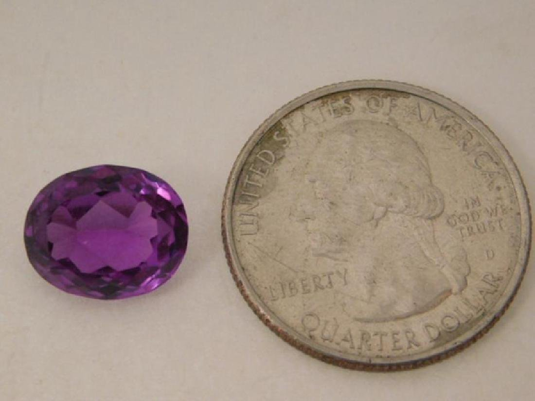 COLOR CHANGE AMETHYST GEM LOOSE JEWELRY FACETED - 3